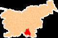 Karte Kocevje si.png