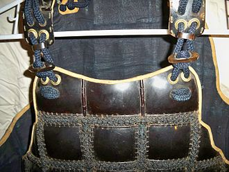Mail and plate armour - Image: Karuta armor close up