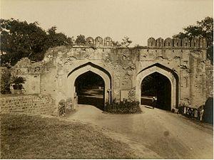 Kashmiri Gate, Delhi - Kashmere Gate, Delhi, c1865