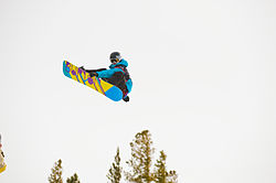 Kelly Clark Mammoth Mountainilla 2010.