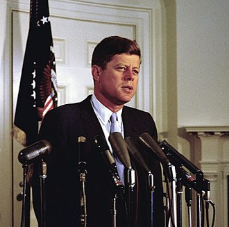 Alliance for Progress - Image: Kennedy on Punta del Este conference, August 1961