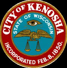Official seal of Kenosha, Wisconsin