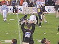 Kevin Riley injured at 2009 Poinsettia Bowl.JPG
