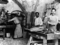 Khalil Raad, Carpenters in Nazareth.png