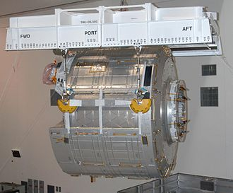 STS-123 - JEM Kibo ELM-PS in the Space Station Processing Facility