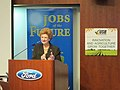 Kicking off the Jobs of the Future Tour in Dearborn (7752968632).jpg