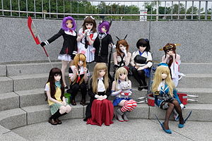 Animegao kigurumi - Kigurumi of Kantai Collection characters