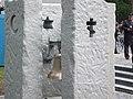 Kijów-Bykownia, Dzwon Pamięci na polskiej części cmentarza wojennego w Bykowni - Memory Bell on Polish side of war cemetery - panoramio.jpg