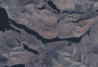 Killary Harbour - Satellite image of Killary Harbour.