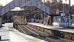 Kilwinning Station, Largs platforms, North Ayrshire.jpg