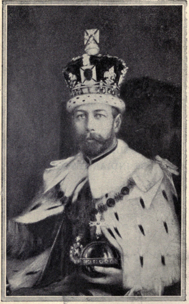 File:King George V Emperor of India.xcf