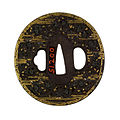 Kitani Masachika - Tsuba with Cherry Blossoms in Mist - Walters 51200 - Back.jpg
