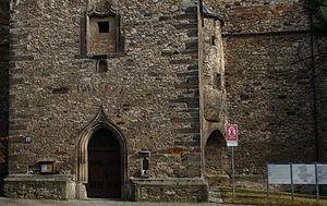 Nienburg Abbey - Portal der Klosterkirche Nienburg / Saale