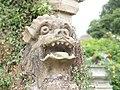Knebworth House, lion head gargoyle-5850638890.jpg