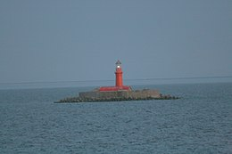 Kolkas bāka - Kolka lighthouse.jpg