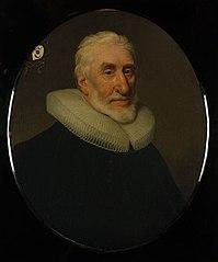Ovaal portret van Johan (Jan) de Groot