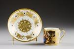 Kopp med fat. Paris - Hallwylska museet - 87079.tif