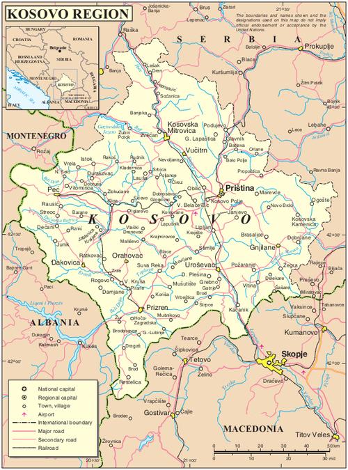 Peja Kosovo Karte.Kosovo Davishunter Com
