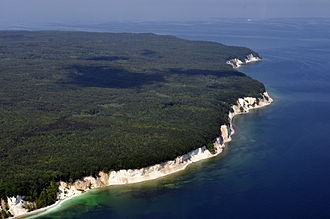 Sassnitz - Cliff shoreline of Jasmund National Park