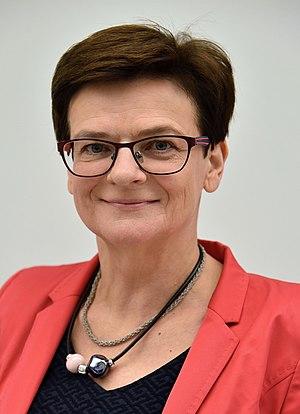 Krystyna Szumilas - Image: Krystyna Szumilas Sem 2016