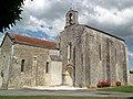 L'église de St André de Lidon.JPG