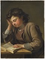 Läsande gosse (Per Krafft d.ä.) - Nationalmuseum - 180131.tif