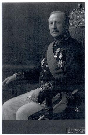Louis Regout - Louis Regout in 1913