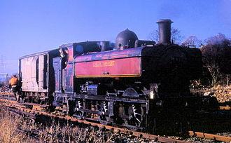 GWR 0-6-0PT - Ex-GWR 5700 class, London Transport No. L95 shunts at Croxley, 1969