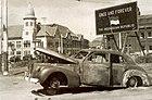 LaSalle 1940 Series 52 Sedan of Brigadier-Mallaby - Coche quemado - 194511.jpg