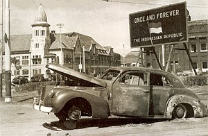LaSalle 1940 Series 52 Sedan of Brigadier-Mallaby - Burnt Car - 194511.jpg