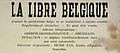 La Libre Belgique clandestine (Peter Pan) - 1942.jpg