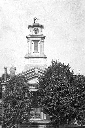 John M. Van Osdel - La Porte County, Indiana Second Court House c.1848
