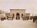 La filovia a Siena - Deposito dei filobus presso Porta Camollia (ca 1907).jpg