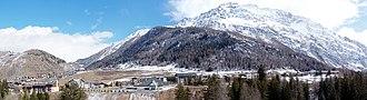 La Thuile, Aosta Valley - Image: La thuile