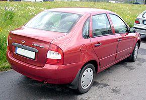 Lada Kalina 1118 Cranberry Heck.JPG