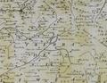 Lagoa de Antela no Mapa do bispado de Ourense de Cornide (1763).png