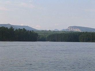 Lake James - View of Shortoff Mountain from Lake James