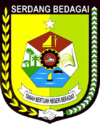 Seal, or Lambang, of Serdang Bedagai Regency