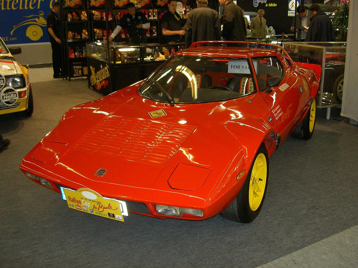 Lancia Stratos Hf Wikipedia Wolna Encyklopedia