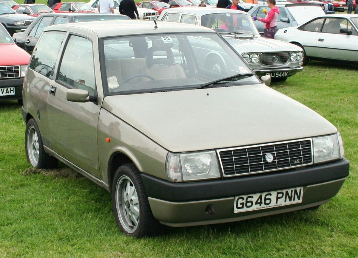 4 Roues Motrices >> Lancia Y10 — Wikipédia