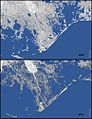 Land loss in coastal Louisiana since 1932 NOAA2013.jpg