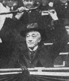 Landis opens 1921 season