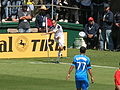 Landon Donovan at Galaxy at Earthquakes 2010-08-21 16.JPG