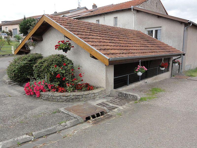 Laneuveville-devant-Bayon (M-et-M) lavoir, extérieur
