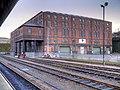 Large Brick Warehouse at Huddersfield Station (geograph 4302469).jpg