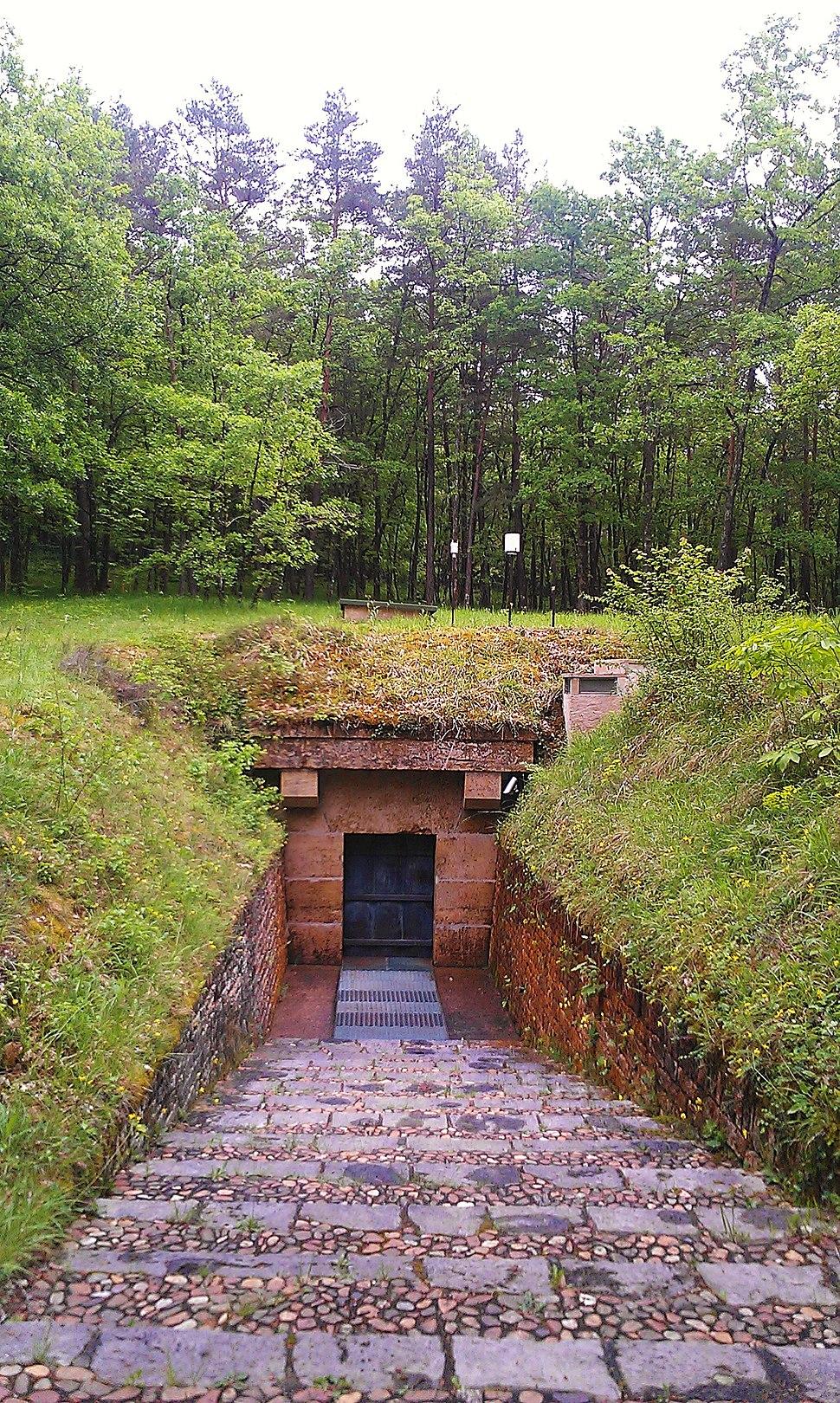 Lascaux entrance