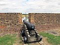 Late 18th century cannon at Tilbury Fort.jpg