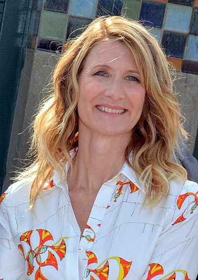 Laura Dern, American actress, director, and producer.