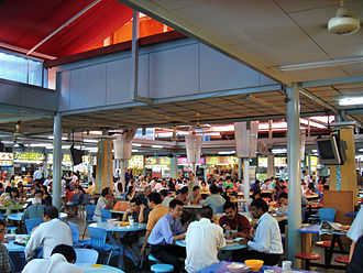 Culture of Singapore - A hawker centre in Lavender, Singapore
