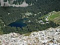 Le Lac du Poursollet depuis la crête de Brouffier - panoramio.jpg